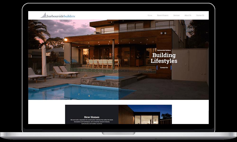 Harbourside Builders site laptop (1)